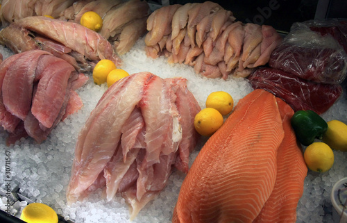 Fish at a Fish Market
