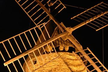 ailes du moulin à vent de Collioure