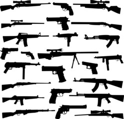 weapon collection 1 - vector