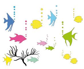 Aquarium mit Zierfische
