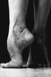 Contemporary Dancer Feet