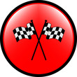 Checkered flag button for design
