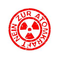 Nein zur Atomkraft
