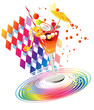 Rainbow party's drinks