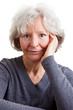 Portrait einer symphatischen Rentnerin
