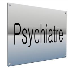 plaque 3d psychiatre