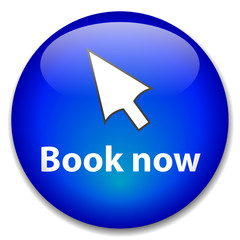 """BOOK NOW"" Web Button (order online e-booking cursor click here)"
