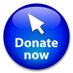 """DONATE NOW"" Web Button (donation charity money give contribute)"