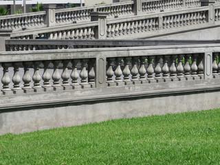 Stone Balustrade with pillar