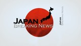 Japan breaking news headlines animation