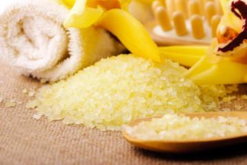 spa concept yellow