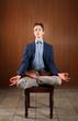 Young Man Meditating