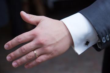 fede nuziale dello sposo