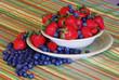 Bluberries and Strawberries