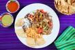 Fajitas de res beef fajita Mexican food