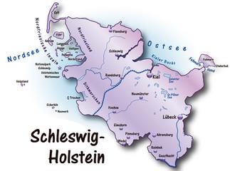 Schleswig-Holstein flieder