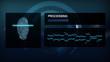 Computer interface -  Fingerprint scanning