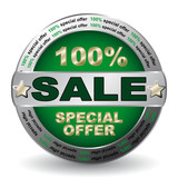 SALE SPECIAL OFFER ICON