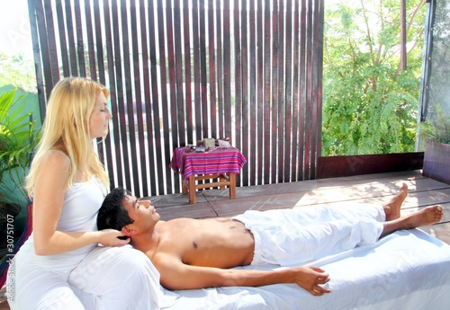 cranial sacral massage therapy in Jungle cabin