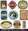 Vintage Labels Collection  -Set 5