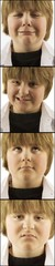 4 Images Of Young Boy With Varying Faces