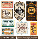 Etikety Vintage Collection - Set 2