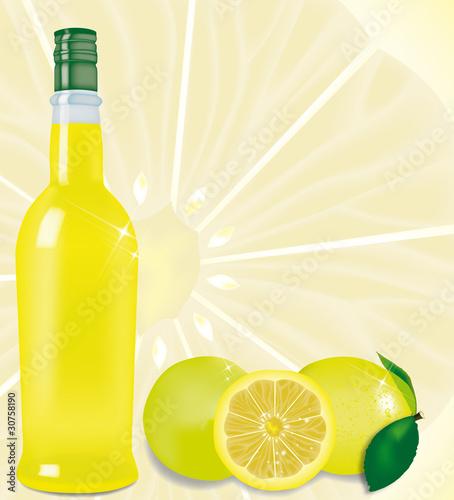 limoncello con limoni