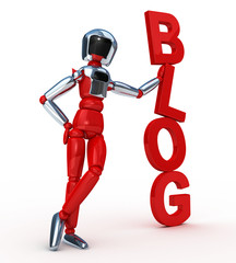 Blog vertical