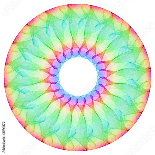 Colorful Mandala Circle