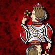 dame de carreau - reine