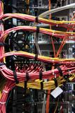 serverschrank rückseite & kabel, hochkant