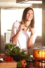 Kräuter in der Küche