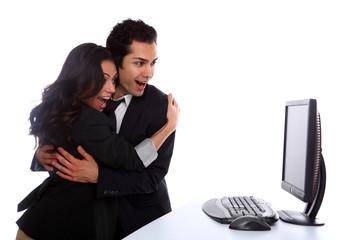 Couple Winning Online