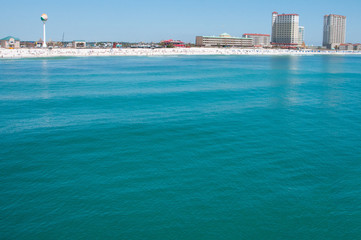 Water view of Pensacola Beach