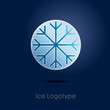 Logo Ice Button # Vector