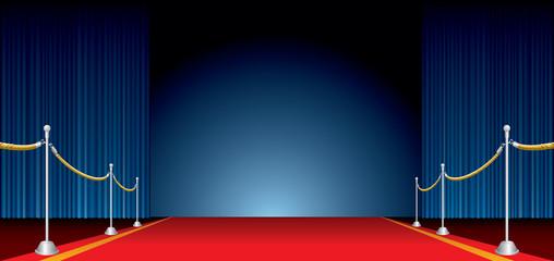 red carpet wide