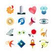 logo, picto, marketing, internet, business, web, commerce, kit