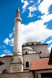Minaret of Mosque in Sarajevo poster