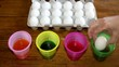 Eastger egg dyes