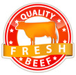 quality beef sign
