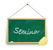 Tafel grün Seminar