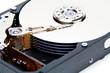 Offene Festplatte Datenspeicher