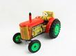 tracteur en fer, jouet