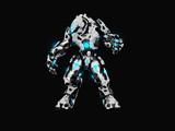 Advanced battle robot poster