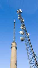 Tv,Radio,Phone and Communication link Towers