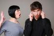 Lautstarke Auseinandersetzung