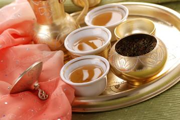servizio da tè turco tre