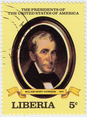 9th president of USA William Henry