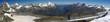 Zwischen Matterhorn und Saas Fee - 180°Panorama