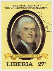 3rd president of USA Thomas Jefferson